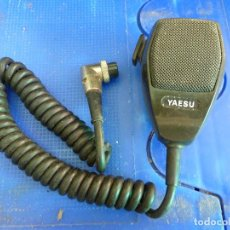 Radios antiguas: MICROFONO YAESU YM-31A PARA EMISORA DE RADIOAFICIONADO. Lote 135704559