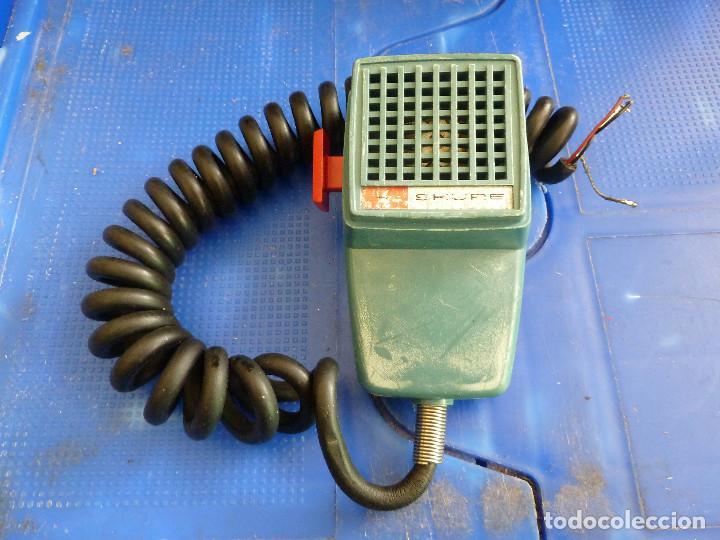 MICROFONO SHURE 201 PARA EMISORA DE RADIOAFICIONADO, usado segunda mano