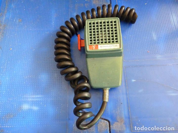 Usado, MICROFONO SHURE MODELO 201 PARA EMISORA DE RADIOAFICIONADO segunda mano