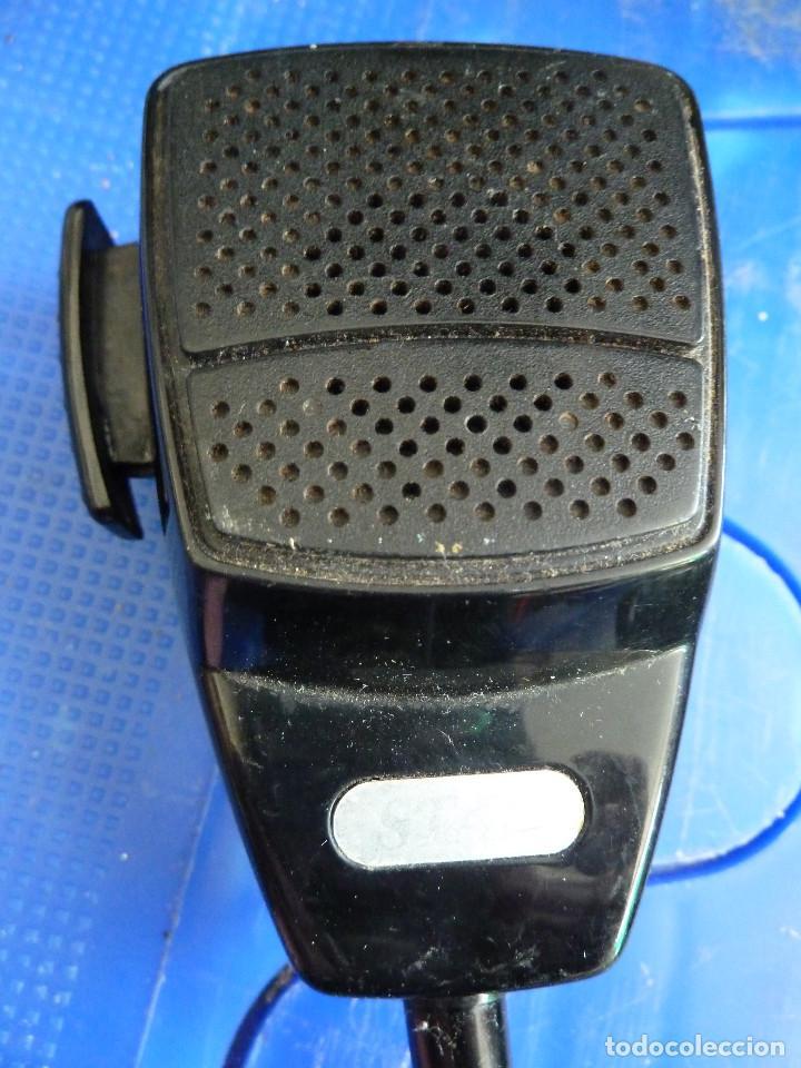 Radios antiguas: MICROFONO PARA EMISORA DE RADIOAFICIONADO - Foto 2 - 135814646