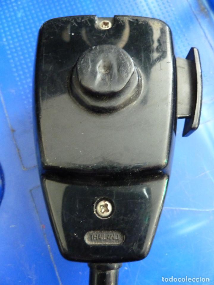 Radios antiguas: MICROFONO PARA EMISORA DE RADIOAFICIONADO - Foto 3 - 135814646
