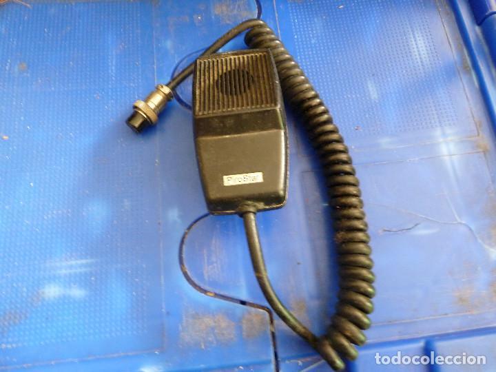 MICROFONO PIROSTAR PARA EMISORA DE RADIOAFICIONADO (Radios, Gramófonos, Grabadoras y Otros - Radioaficionados)