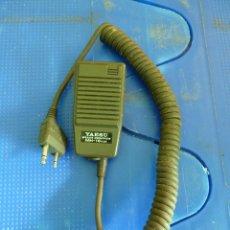 Radios antiguas: MICROFONO YAESU MH-18 PARA WALKIE TALKIE DE RADIOAFICIONADO. Lote 136352950