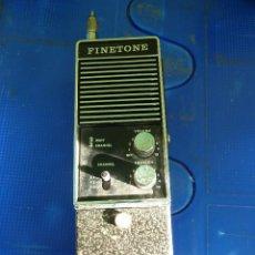 Radios antiguas: WALKIE TALKIE DE RADIOAFICIONADO FINETONE. Lote 136356614