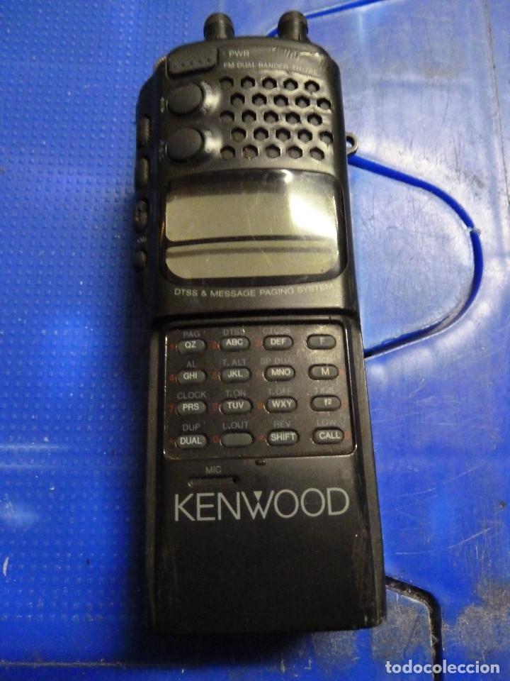 Usado, WALKIE TALKIE DE RADIOAFICIONADO KENWOOD TH-78E segunda mano