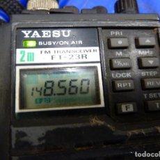 Radios antiguas: WALKIE TALKIE DE RADIOAFICIONADO YAESU FT-23R. Lote 136364226