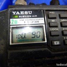 Radios antiguas: WALKIE TALKIE DE RADIOAFICIONADO YAESU FT-23R. Lote 136366054