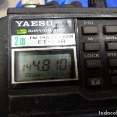 Radios antiguas: WALKIE TALKIE DE RADIOAFICIONADO YAESU FT-23R. Lote 136367066
