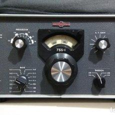 Radios antiguas: RECEPTOR COLLINS BANDAS HF MODELO 75S1 FUNCIONANDO (125V) MUY BONITO Y BUENA CONSERVACION. Lote 137318170