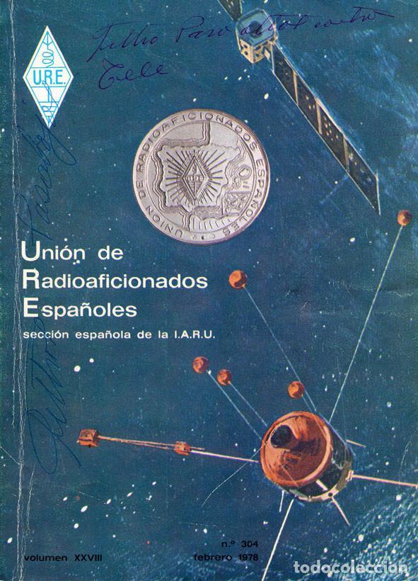 Radios antiguas: 11 REVISTAS URE - UNION RADIOAFICIONADOS ESPAÑOLES - 1978 (AÑO COMPLETO) - Foto 2 - 138219870