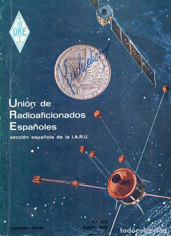 Radios antiguas: 11 REVISTAS URE - UNION RADIOAFICIONADOS ESPAÑOLES - 1978 (AÑO COMPLETO) - Foto 3 - 138219870