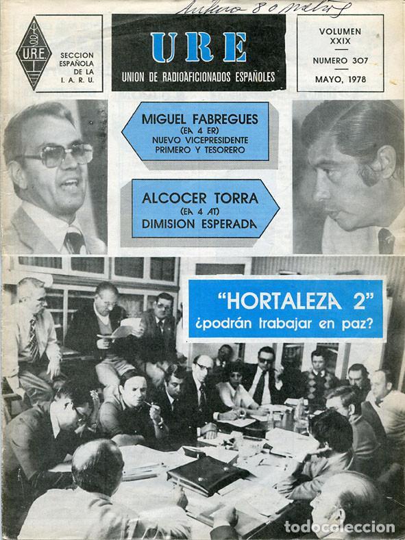 Radios antiguas: 11 REVISTAS URE - UNION RADIOAFICIONADOS ESPAÑOLES - 1978 (AÑO COMPLETO) - Foto 5 - 138219870