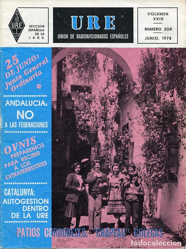 Radios antiguas: 11 REVISTAS URE - UNION RADIOAFICIONADOS ESPAÑOLES - 1978 (AÑO COMPLETO) - Foto 6 - 138219870