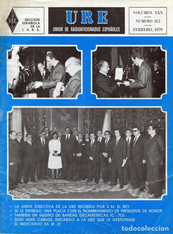 Radios antiguas: LOTE 11 REVISTAS URE - UNION RADIOAFICIONADOS ESPAÑOLES - 1979 (AÑO COMPLETO) - Foto 2 - 138617478