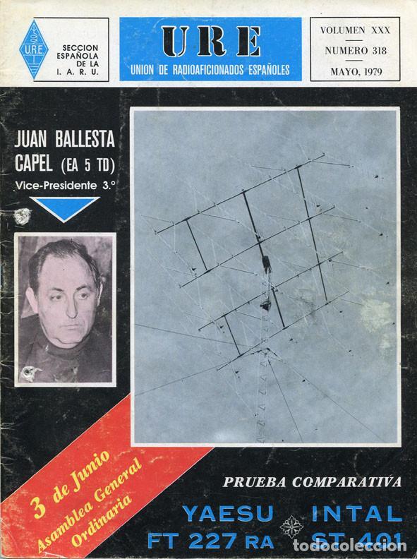 Radios antiguas: LOTE 11 REVISTAS URE - UNION RADIOAFICIONADOS ESPAÑOLES - 1979 (AÑO COMPLETO) - Foto 5 - 138617478