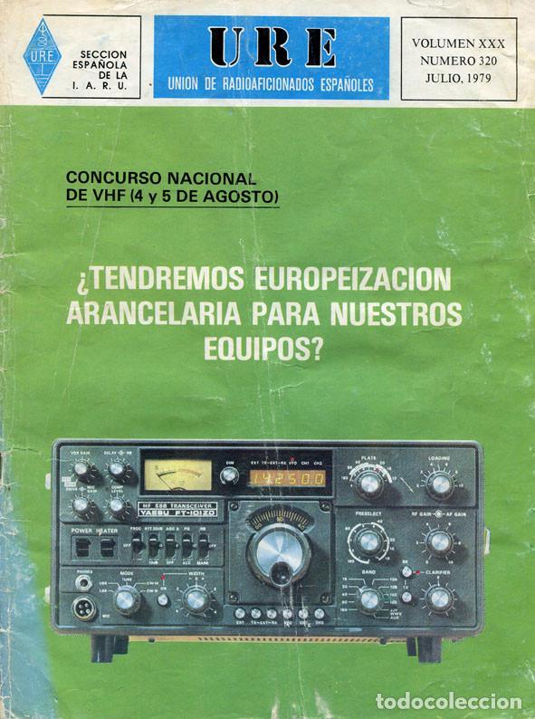 Radios antiguas: LOTE 11 REVISTAS URE - UNION RADIOAFICIONADOS ESPAÑOLES - 1979 (AÑO COMPLETO) - Foto 7 - 138617478