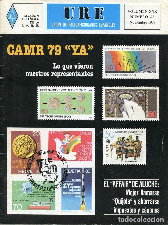 Radios antiguas: LOTE 11 REVISTAS URE - UNION RADIOAFICIONADOS ESPAÑOLES - 1979 (AÑO COMPLETO) - Foto 10 - 138617478