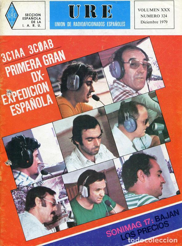Radios antiguas: LOTE 11 REVISTAS URE - UNION RADIOAFICIONADOS ESPAÑOLES - 1979 (AÑO COMPLETO) - Foto 11 - 138617478