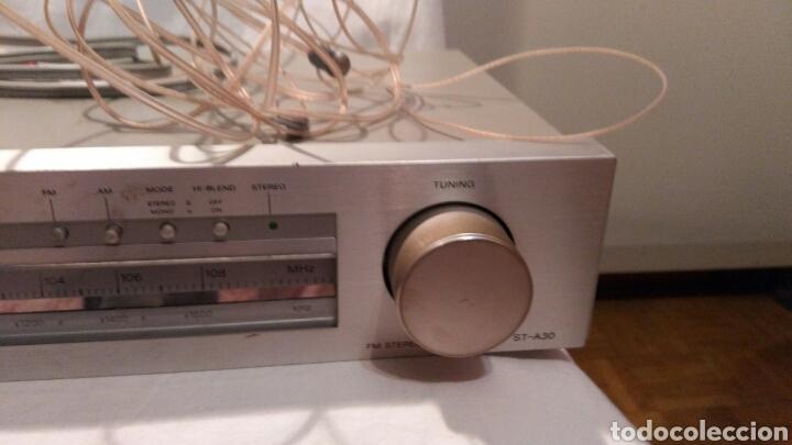 Radios antiguas: SINTONIZADOR DE FRECUENCIAS DE RADIO SONY, MODELO ST- A30, VER - Foto 3 - 139592198