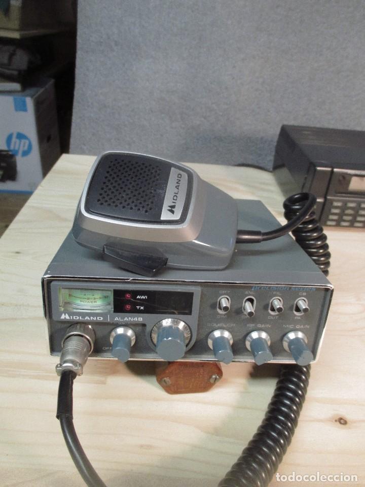 TRANSCEIVER MIDLAND ALAN-48 (Radios, Gramófonos, Grabadoras y Otros - Radioaficionados)