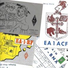 Radios antiguas: COLECCION DE 45 TARJETAS DE RADIOAFICIONADOS VER FOTOS. Lote 144032502