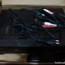Radios antiguas: MORGAN´S DENVER II 250 CANALES CON MANDO TV RECEPTOR DIGITAL TERRESTRE, INTERNET SCART RADIO SAT RCA. Lote 145249614