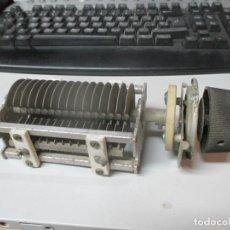 Radios antiguas: CONDENSADOR VARIABLE 100PF-3KV. Lote 147335570