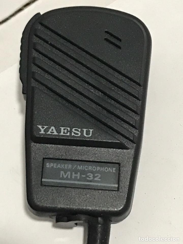 Radios antiguas: MICRÓFONO PARA WALKI YAESU RADIOAFICIONADO - Foto 2 - 149313534