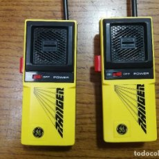 Radios antiguas: WALKIES TALKIES RANGER DE GENERAL ELECTRIC AÑOS 80 FUNCIONANDO Y EN PERFECTO ESTADO!!!!. Lote 150551186
