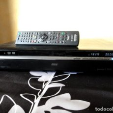 Radios antiguas: SONY RDR HXD970 GRABADOR DVD HDD 250G COMBO TDT DVB 970. Lote 151327862