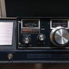 Radios antiguas: TRANSCEIVER AMERICANO ATLAS 210X EN CONSOLA ORIGINAL. Lote 151818106