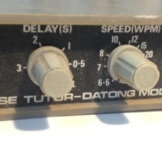 Radios antiguas: MORSE TUTOR-DATONG MODEL D70. Lote 152899489