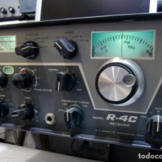 Radios antiguas: RECEPTOR DRAKE MODELO R4C - BITENSIÓN 125/240V. CON FILTROS DE AUDIO.. Lote 152902662