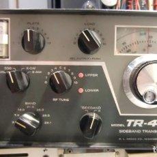 Radios antiguas: TRANSCEIVER DRAKE TR4C CON FUENTE DE ALIMENTACIÓN. MUY BIEN CONSERVADO Y FUNCIONANDO.. Lote 152916638