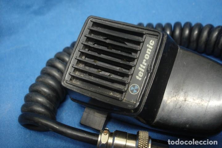 MICRÓFONO PARA EMISORA TELTRONIC - MADE IN SPAIN (Radios, Gramófonos, Grabadoras y Otros - Radioaficionados)