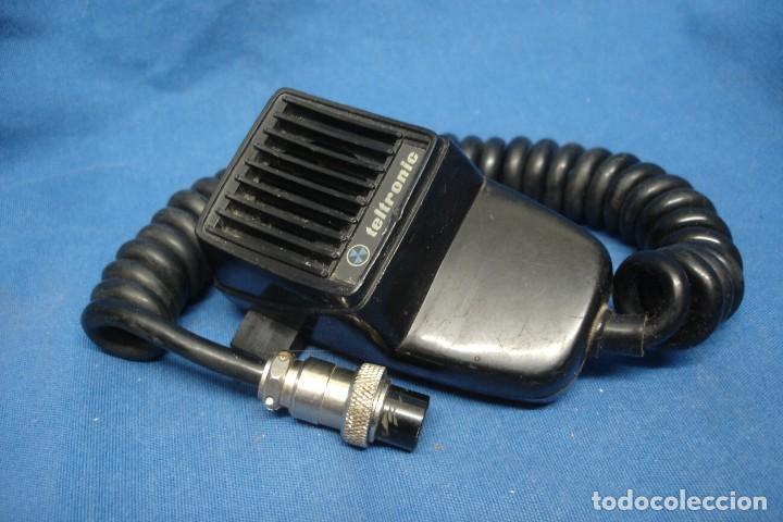 Radios antiguas: MICRÓFONO PARA EMISORA TELTRONIC - MADE IN SPAIN - Foto 2 - 153139350
