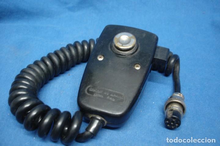 Radios antiguas: MICRÓFONO PARA EMISORA TELTRONIC - MADE IN SPAIN - Foto 4 - 153139350