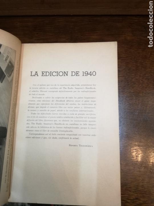 Radios antiguas: MANUAL DE RADIO PARA AFICIONADOS - Foto 2 - 154878329