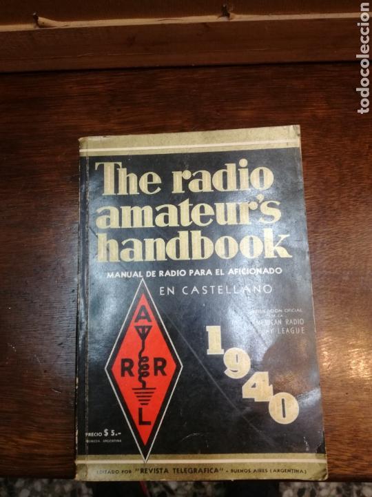 MANUAL DE RADIO PARA AFICIONADOS (Radios, Gramófonos, Grabadoras y Otros - Radioaficionados)