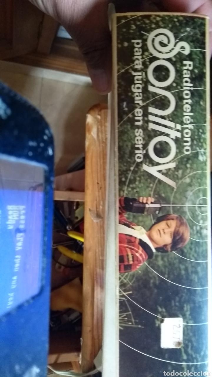 Radios antiguas: Sonitoy walkie años 70 leer antes - Foto 2 - 159865130