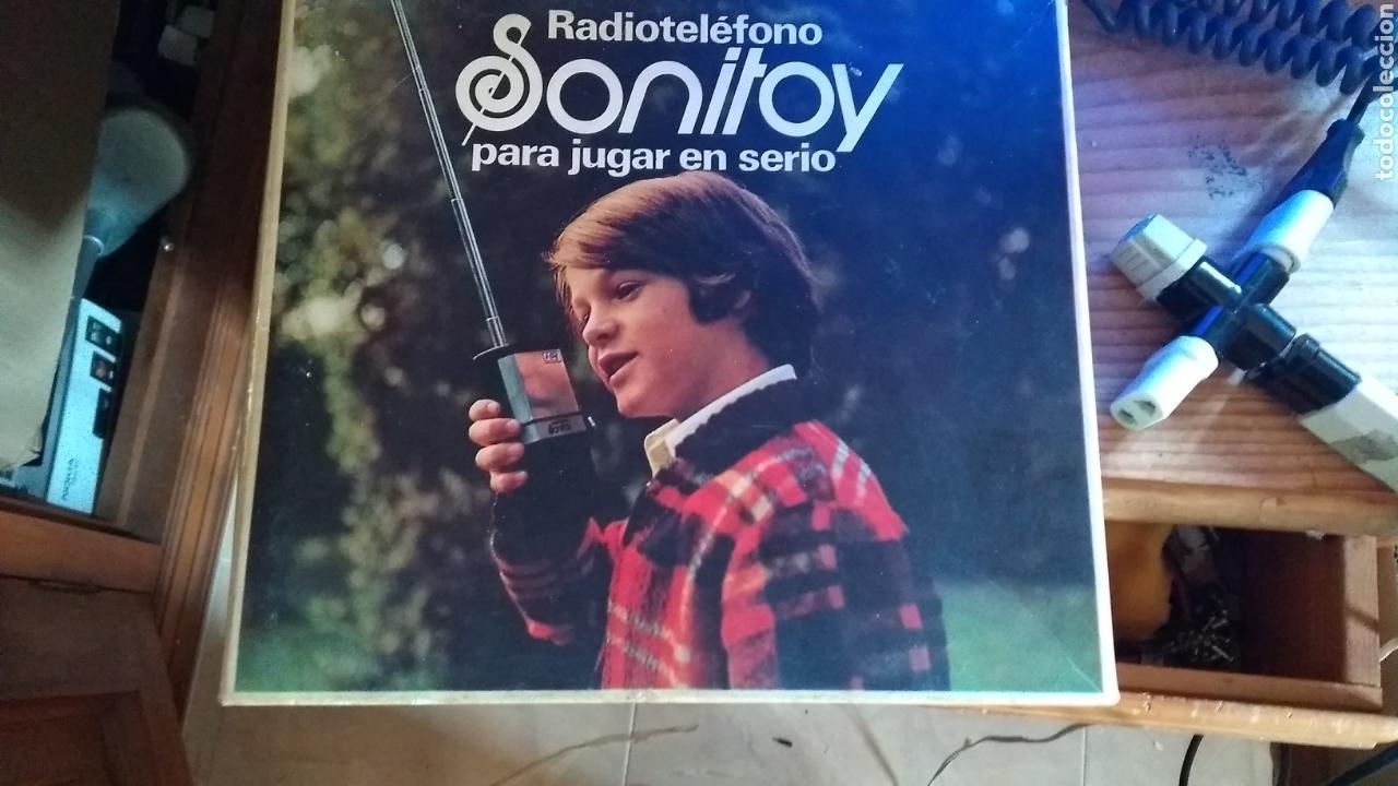 SONITOY WALKIE AÑOS 70 LEER ANTES (Radios, Gramófonos, Grabadoras y Otros - Radioaficionados)
