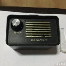Radios antiguas: ANTIGUO DETECTOR DE RADARES RADANET . Lote 161956538