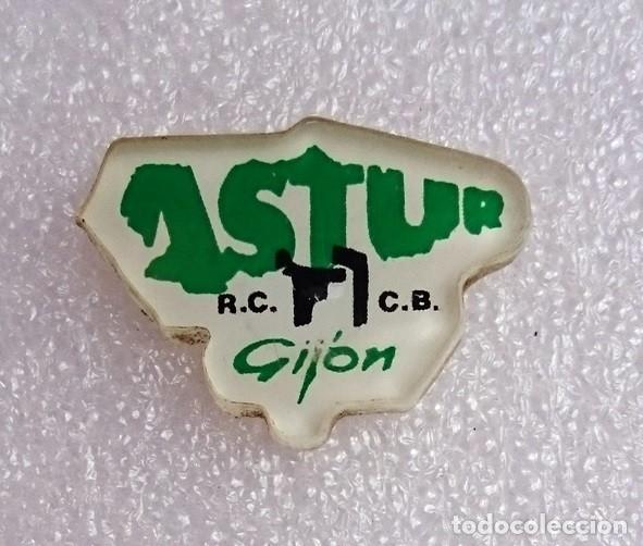 PIN RADIO CLUB CB 27 MHZ ASTUR GIJÓN ASTURIAS 1995 - RADIO - AFICIONADOS / OBSOLETO (Radios, Gramófonos, Grabadoras y Otros - Radioaficionados)