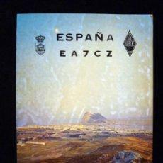 Radios antiguas: TARJETA POSTAL QSL RADIOAFICIONADO. EA7CZ - LA LÍNEA (CÁDIZ), 1977. RADIO AFICIONADO . Lote 163971462