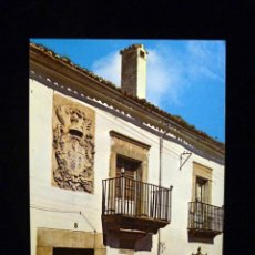 Radios antiguas: TARJETA POSTAL QSL RADIOAFICIONADO. EA4CFJ - VALENCIA DE ALCÁNTARA (CÁCERES) 1984. SELLO TRÁFICO. Lote 163976906