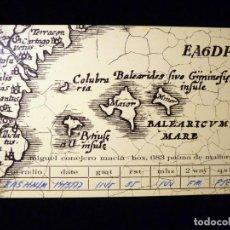 Radios antiguas: TARJETA POSTAL QSL RADIOAFICIONADO. EA6DP - PALMA DE MALLORCA, 1977. RADIO AFICIONADO (2). Lote 163978566