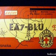 Radios antiguas: TARJETA POSTAL QSL RADIOAFICIONADO. ED5MFP - MURCIA 1991. ESPECIAL FIESTAS PRIMAVERA. RADIO AFICIONA. Lote 163978930