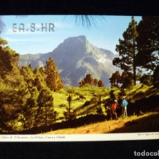 Rádios antigos: TARJETA POSTAL QSL RADIOAFICIONADO. EA8HR - LOS SAUCES (LA PALMA), 1973. RADIO AFICIONADO . Lote 163980814
