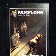 Radios antiguas: TARJETA POSTAL QSL RADIOAFICIONADO. EA2EE - PAMPLONA, SANFERMÍN 1976. RADIO AFICIONADO. Lote 163985062