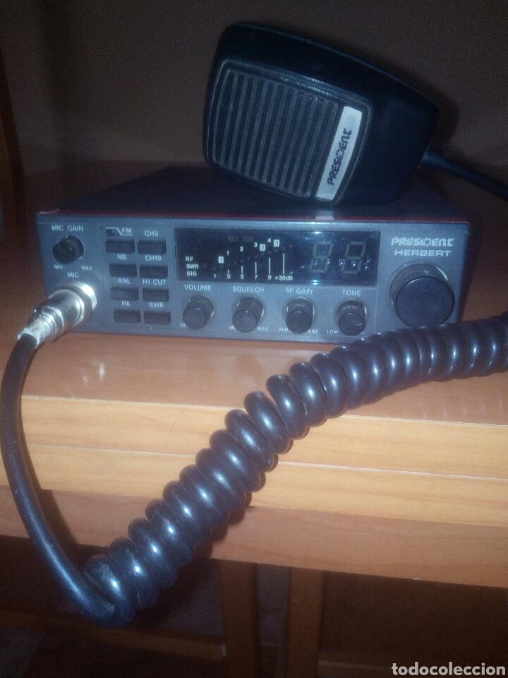 EMISORA DE RADIOAFICIONADO PRESIDENT HERBERT (Radios, Gramófonos, Grabadoras y Otros - Radioaficionados)